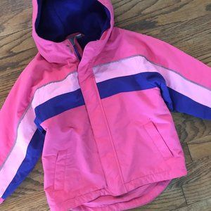 Hanna Andersson Pink Insulated Ski Coat Winter 5